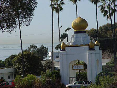 Entrance to the Self Realization Fellowship in Encinitas CA