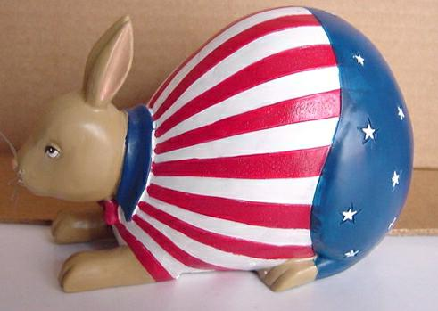 patriotic rabbit