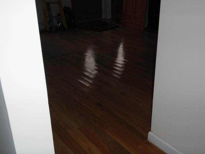 Warped hardwood floors for Hardwood floors warping