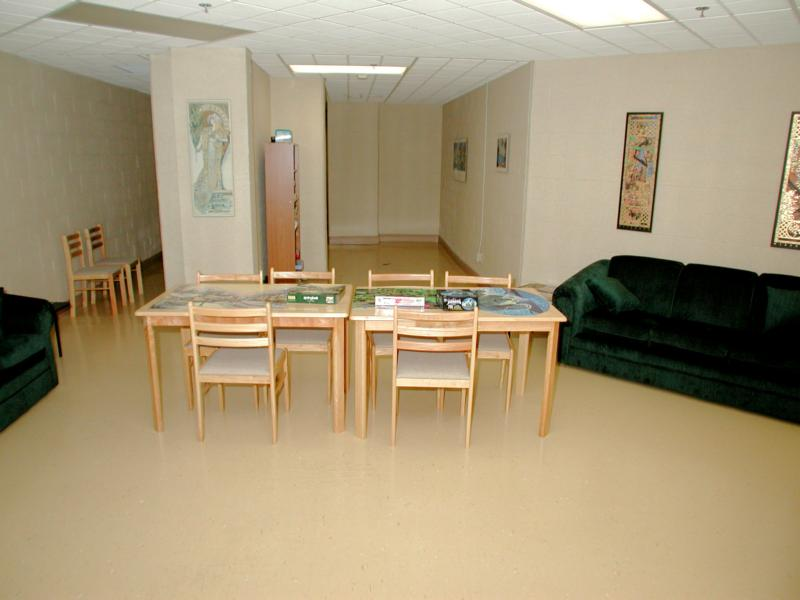 Craft Room for residents to do their hobbies.
