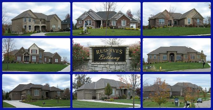 Reserves of Bethany Mason OH 45040 new construction