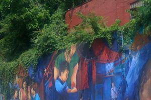 Mural, Squirrel Hill, PA