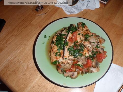 swordfish dinner Endre Barath