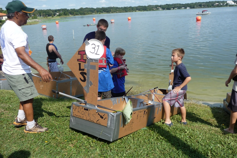 Annual Cardboard Boat Challenge