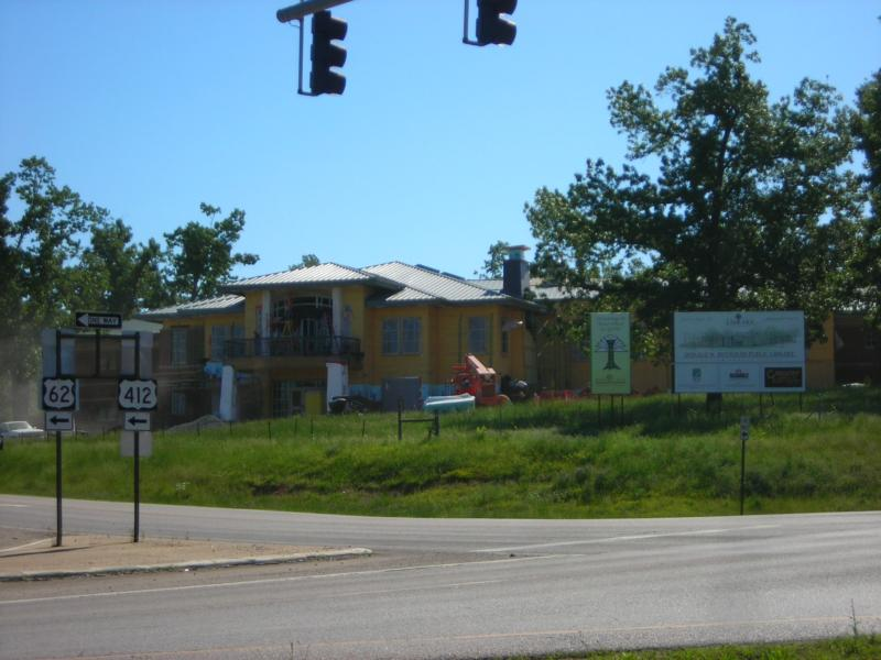 What 39 s happening new construction mountain home arkansas for Mountain house library
