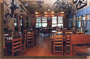 Toccoa Riverside Restaurant Dining Area