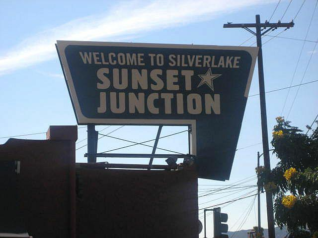 Sunset Junction Silverlake CA