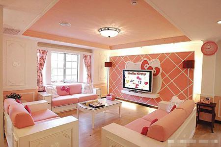Hello Kitty Living Room
