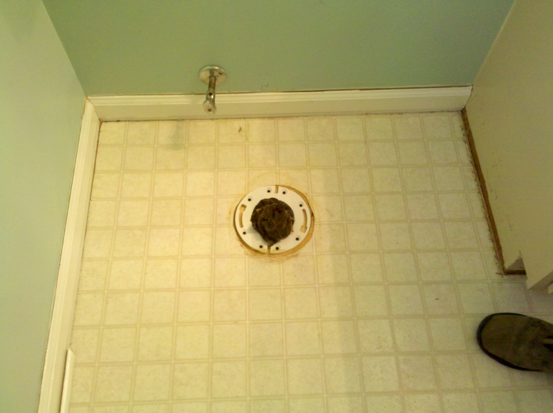 Bathroom Subfloor Repair - Bathroom subfloor replacement
