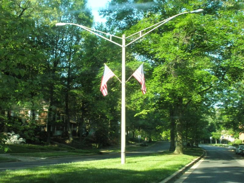 Flags over Crofton