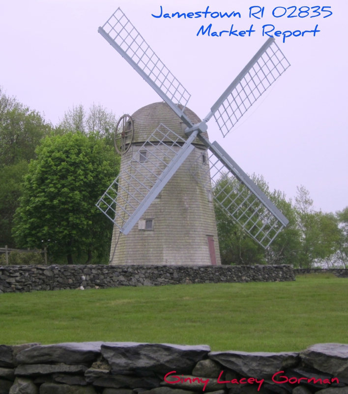 Jamestown RI windmill real estate