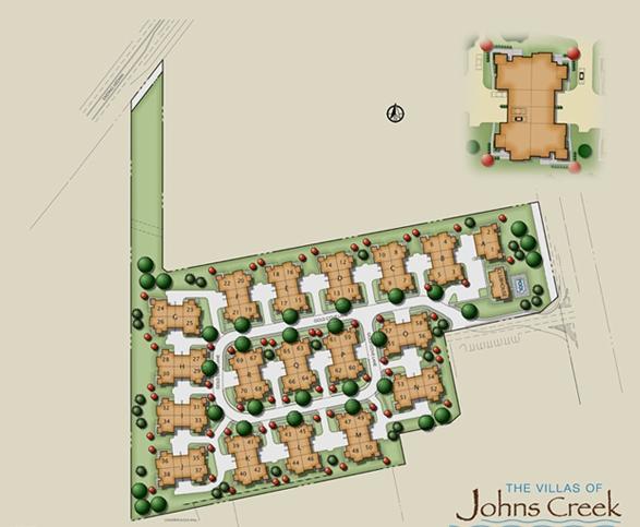 Villas Of Johns Creek-Ranch, Garden And Patio Homes Georgia