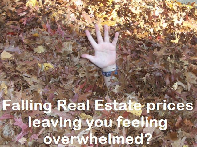 Falling Home Prices Leaving You Feeling Overwhelmed
