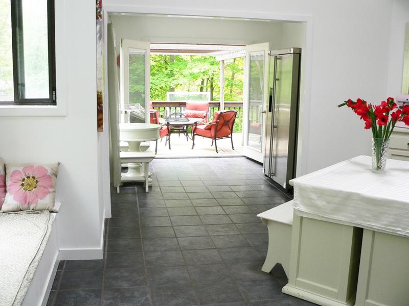 Kitchen to Deck View