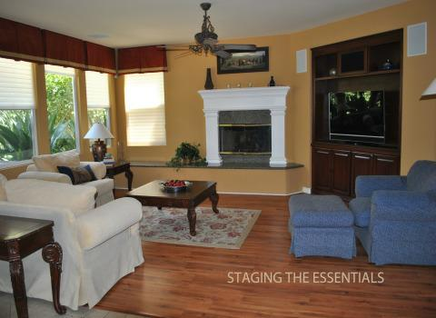 Los angeles glendora home stager stages a lovely south for The family room pasadena
