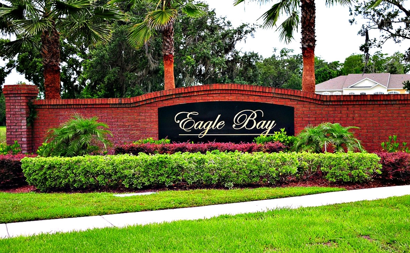 Entrance Eagle Bay Kissimmee, Florida Homes For Sale