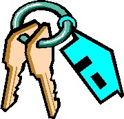 House keys to pick up