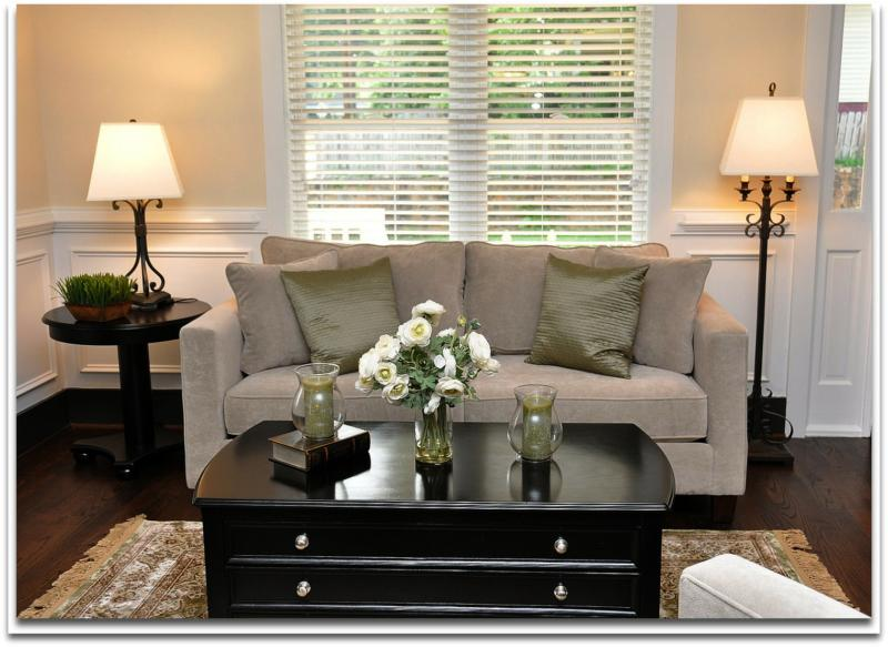Home Staging - Solutions for Decorating A Small Living Room