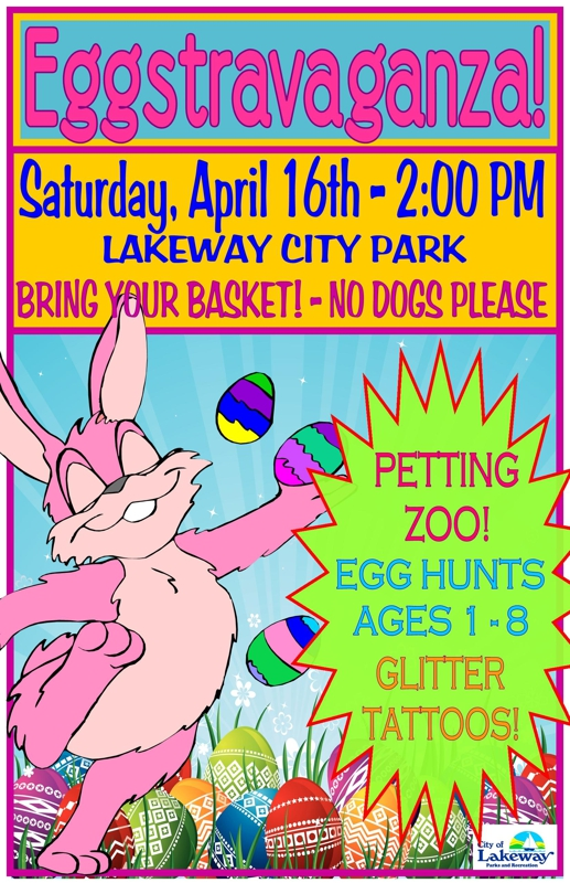 City of Lakeway - Austin TX - Annual Easter Egg Hunt Eggstravaganza - Lakeway City Park