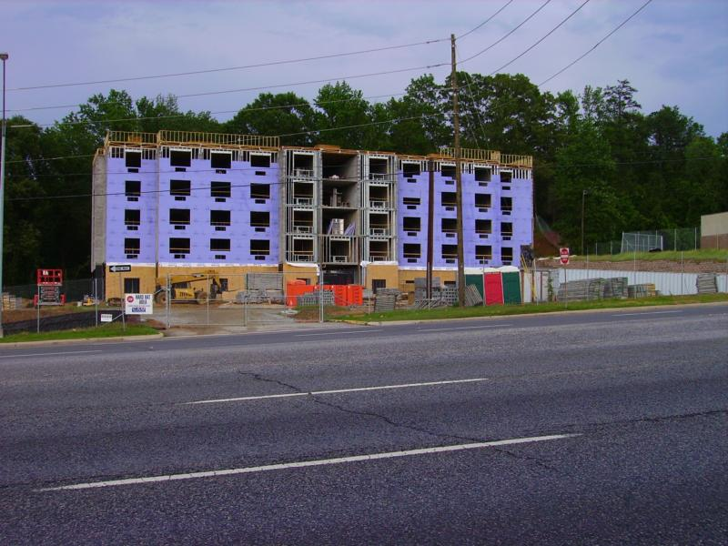 New Hotel going up on Victory Drive and Benning Rd in Columbus Ga home of Fort Benning.