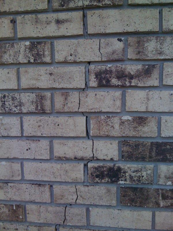 Problems With Brick Floors : Understanding foundation problems