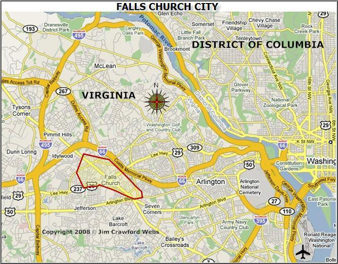 Falls Church Virginia Map.Falls Church Virginia Map Falls Church Virginia Great Place To
