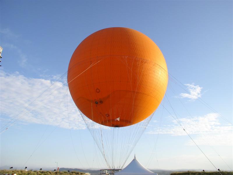baloon at OC Great Park