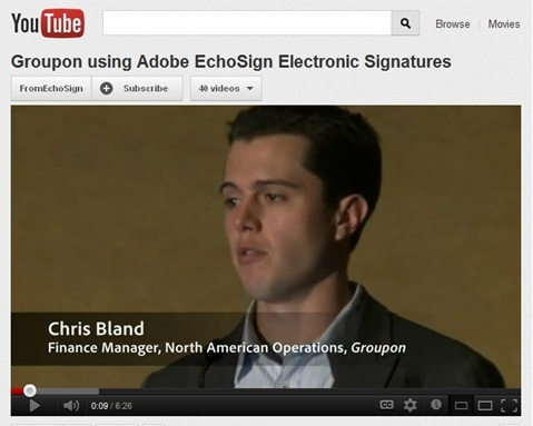 How Groupon Uses EchoSign Electronic Signatures