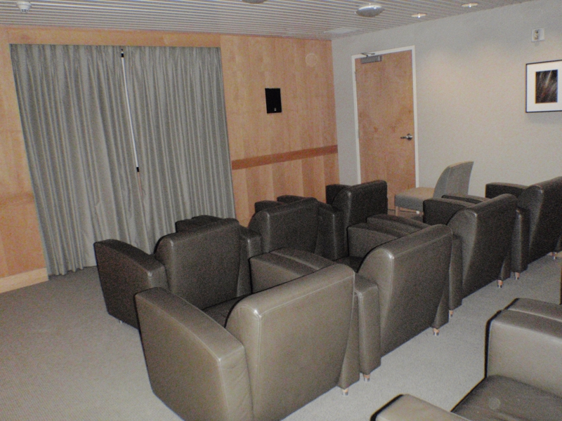State of the Art Screening room at the Regatta by Endre Barath
