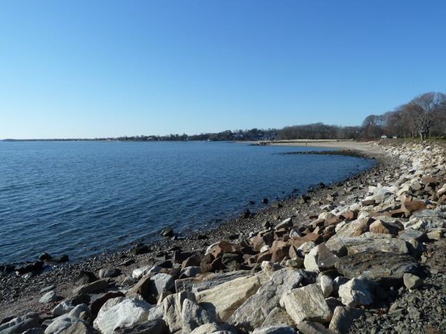 Westport CT 06880 Compo Beach shoreline