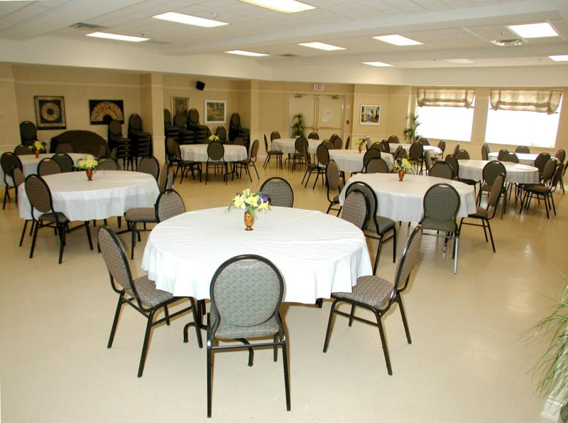 Banquet Hall for use of residents