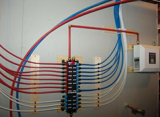 Copper to pex for Using pex for drain lines