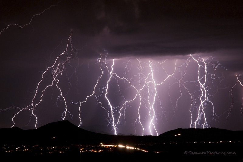 tucson the best place to photograph lightning