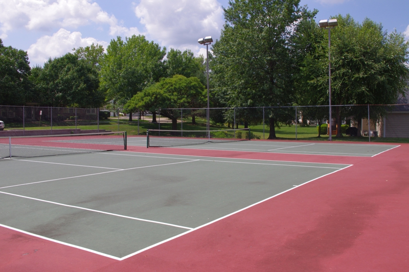 Baxter Ridge tennis courts