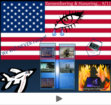 9/11, September 11, tribute, remembrance, video, presentation