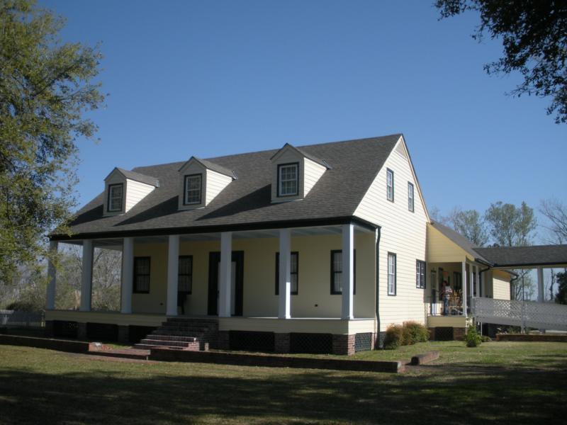 Beautiful Acadian Style Home On 3 Acres In Plaquemine