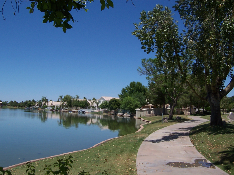 Val Vista Lakes Photo 2