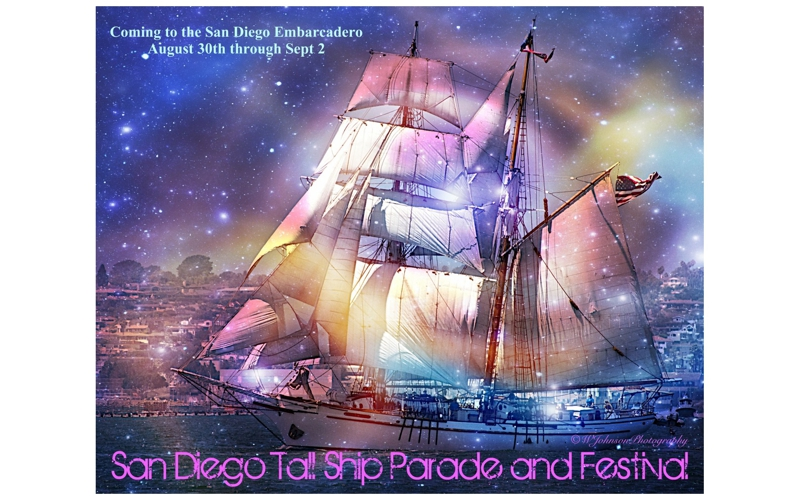 San Diego Tall Ship Parade Poster