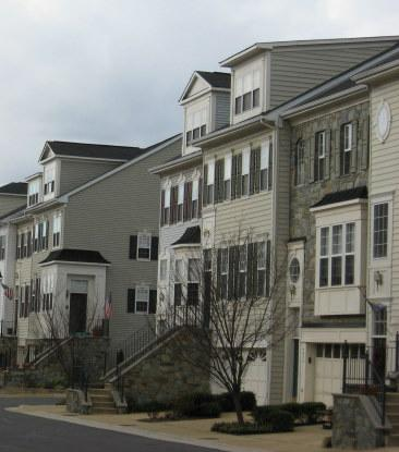 Garage Townhouses at Townes at Cameron Parke