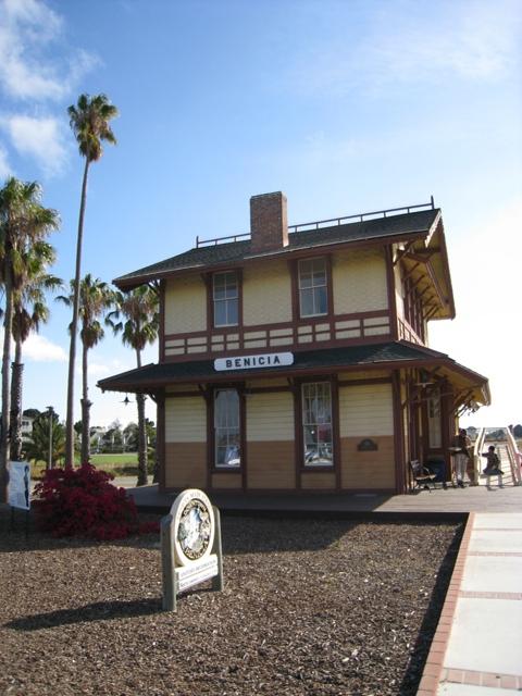 Benicia Train Depot