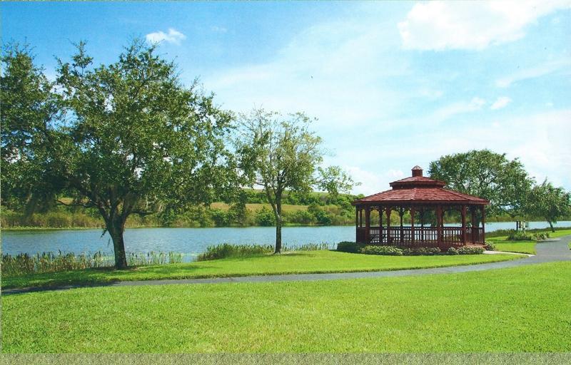 Gazebo in The Lakes in Pinellas Park
