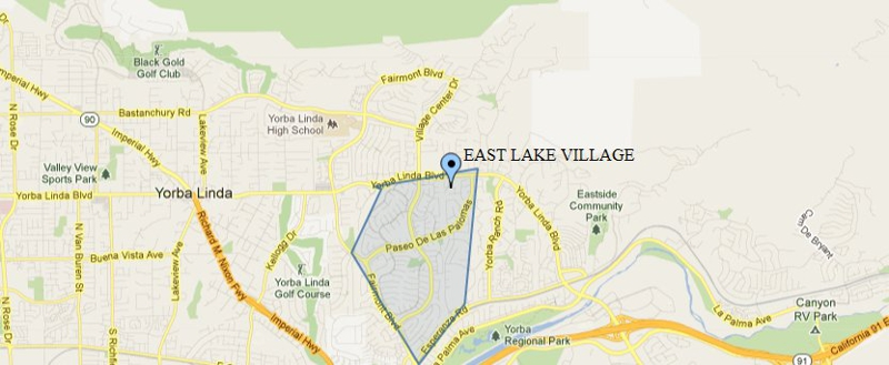 Welcome To East Lake Village In Yorba Linda CA