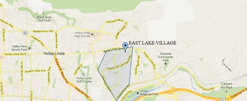Where Is Yorba Linda California Map.Welcome To East Lake Village In Yorba Linda Ca