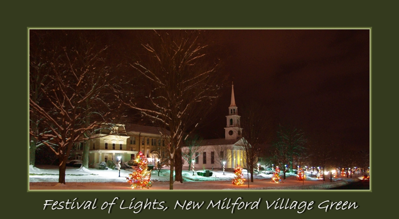 Festival of Lights New Milford CT