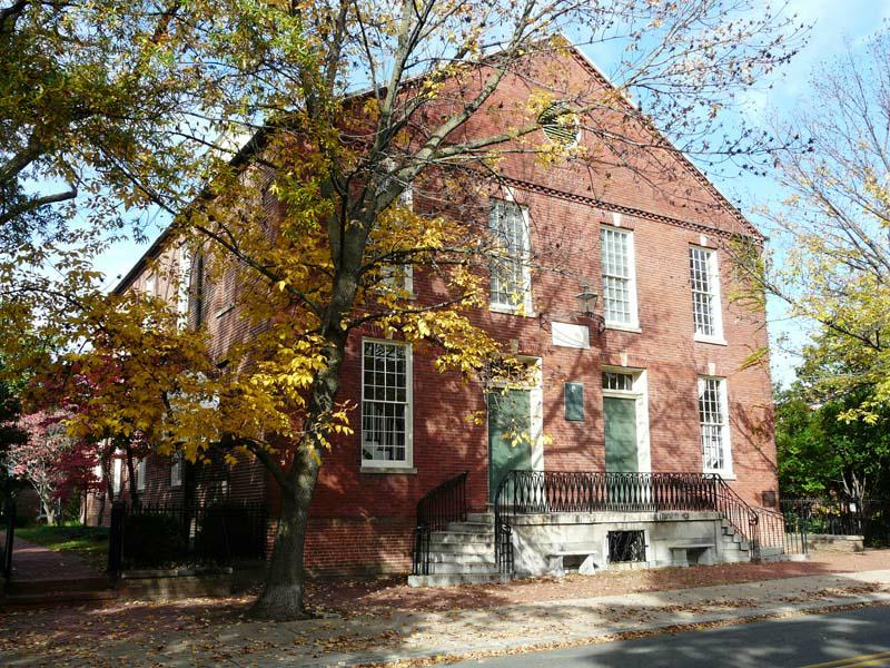 Old Presbyterian Meeting House, Alexandria VA