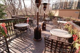 outdoor deck Montebello