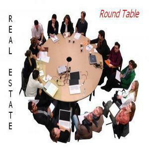 Live discussion at the real estate roundtable