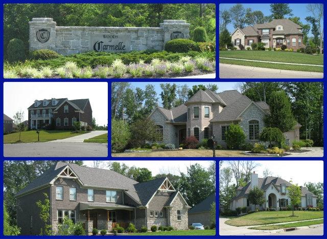The Woods of Carmelle community of Mason Ohio 45040