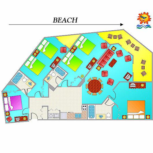 4 Bedroom Condo Ocean Reef Resort Condos