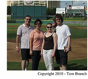 Tom Branch, Gina Branch, Denise Helbing, Stockton Helbing